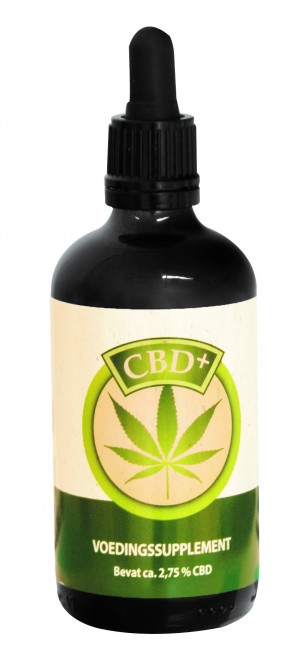 CBD+ olie 2.75% 100ml
